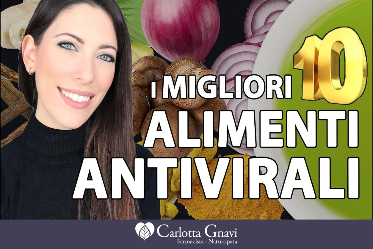 I migliori alimenti antivirali