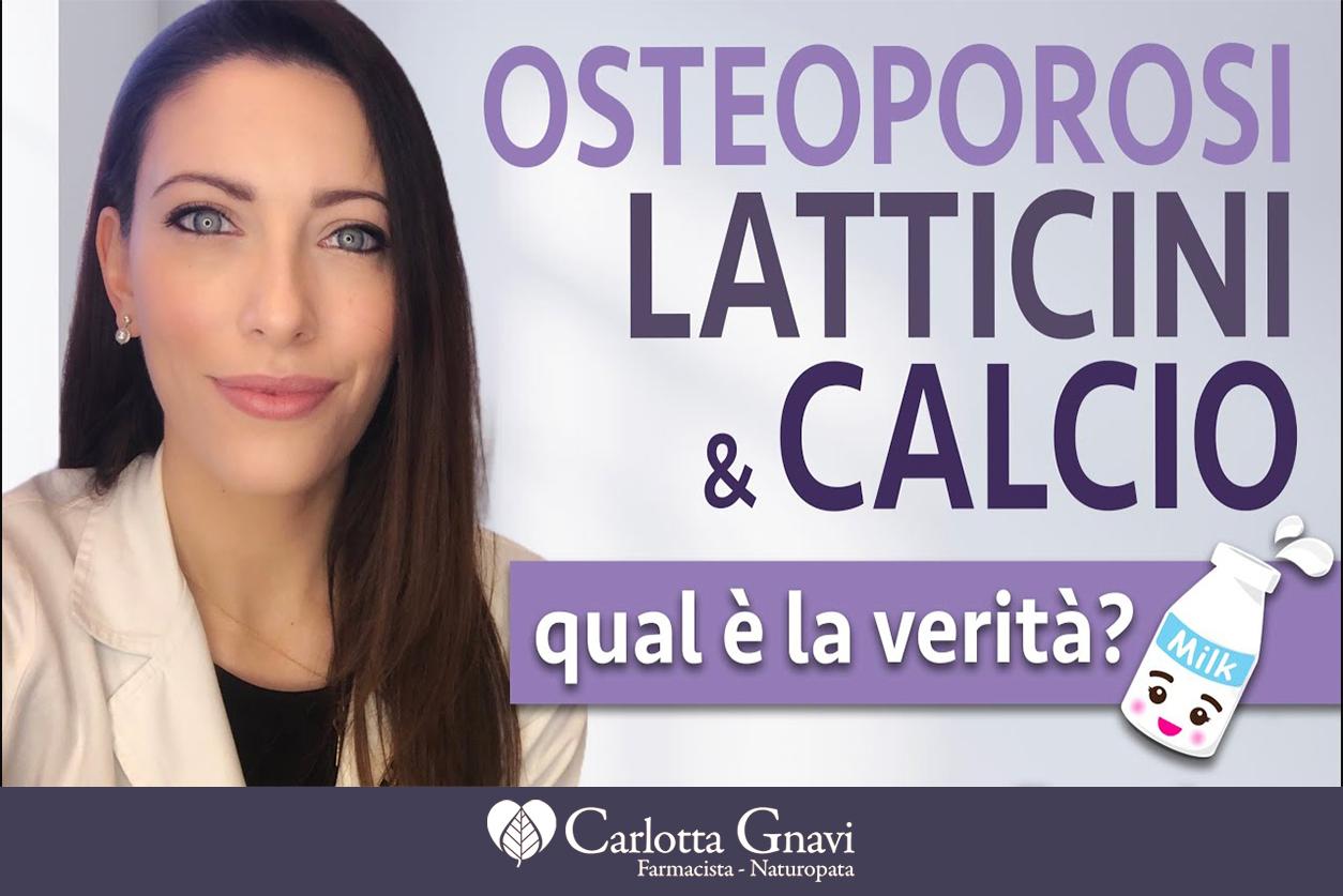 osteoporosi, latticini e calcio quale verità