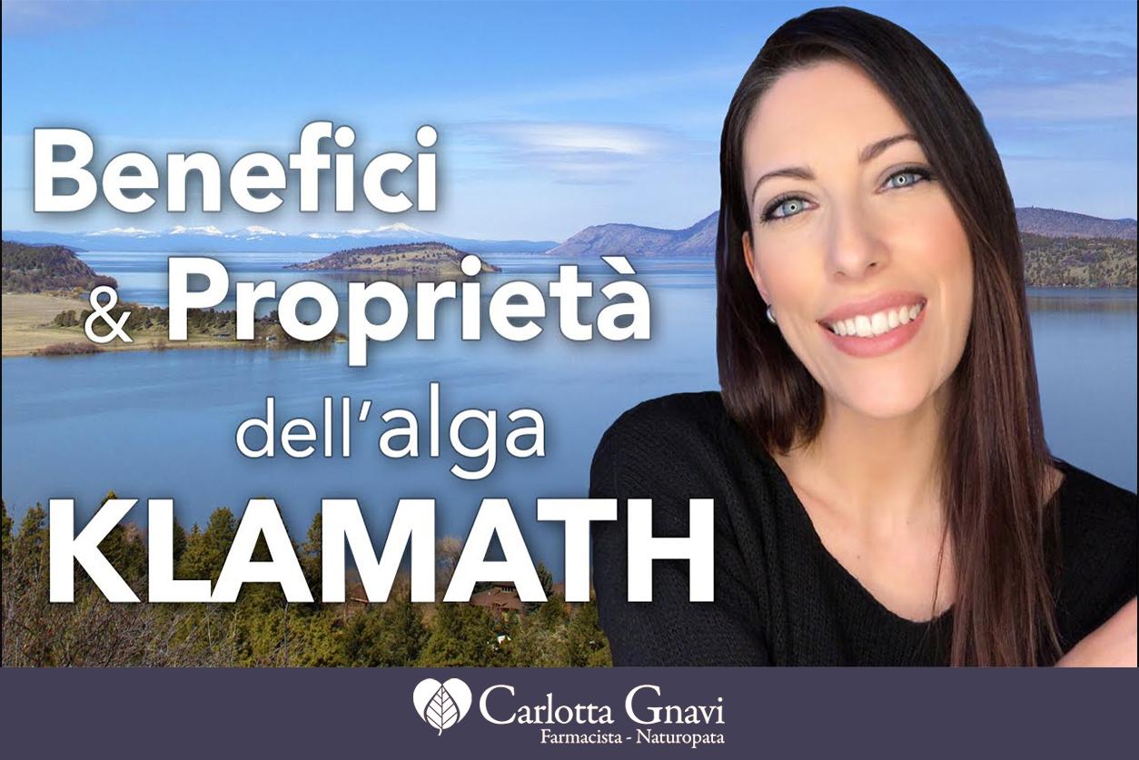 Proprietà dell'alga Klamath