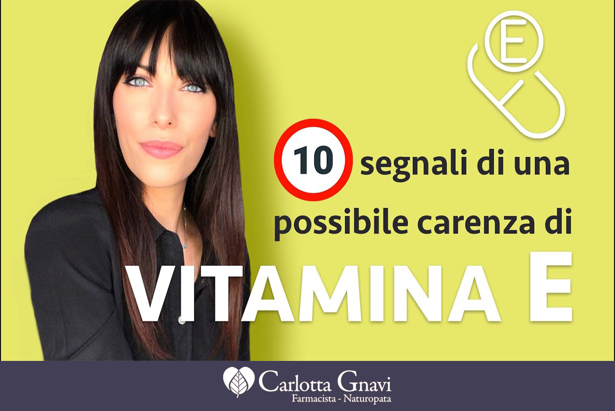 carenza da vitamina E